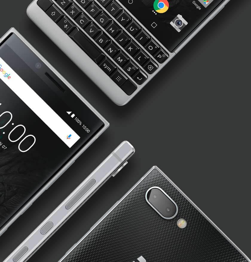 Des lignes emblématiques - BlackBerry KEY2