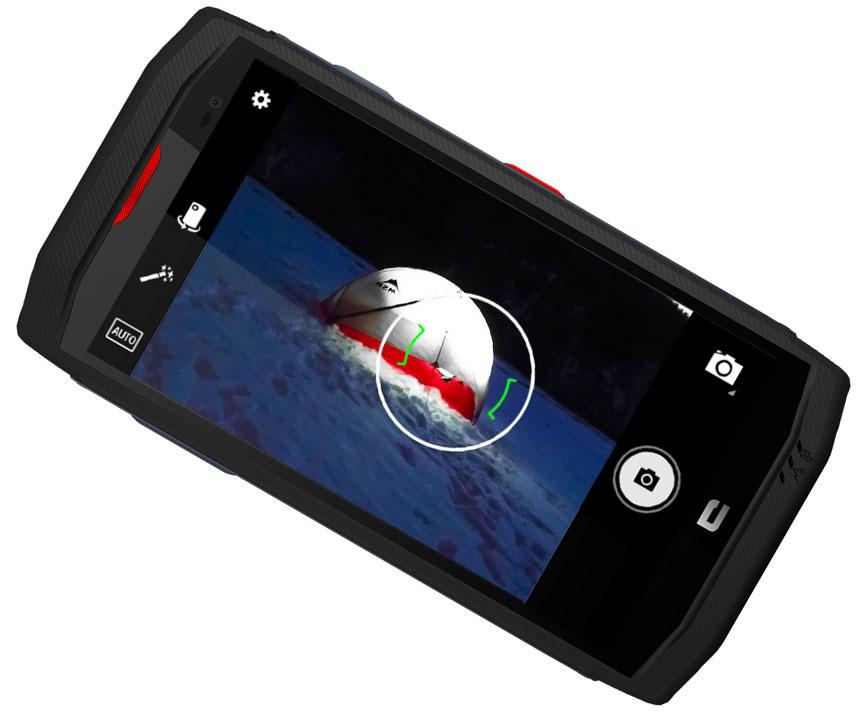 Trekker X3 Appareil photo Sony 16Mp à l'arrière 8Mp à l'avant