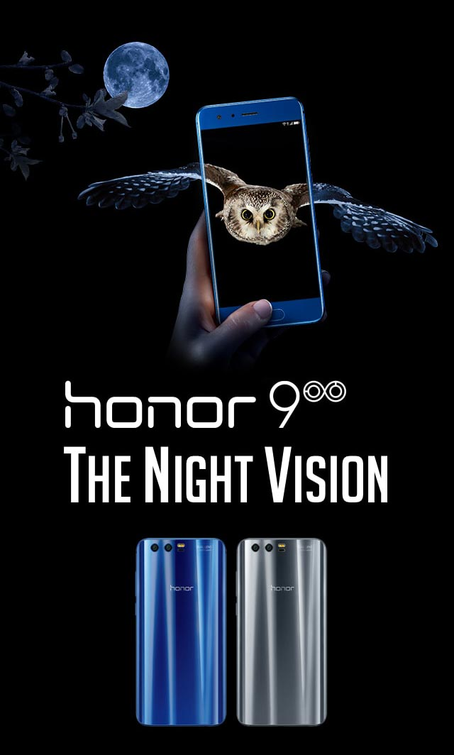 Honor 9 - The night vision