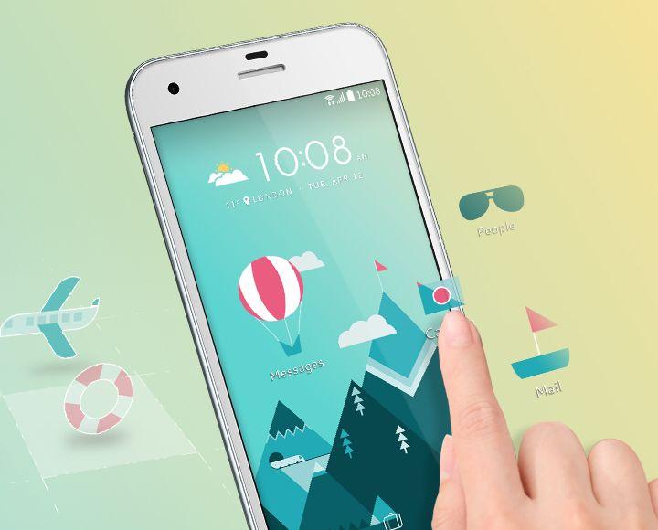 Htc One A9s Votre téléphone, votre image