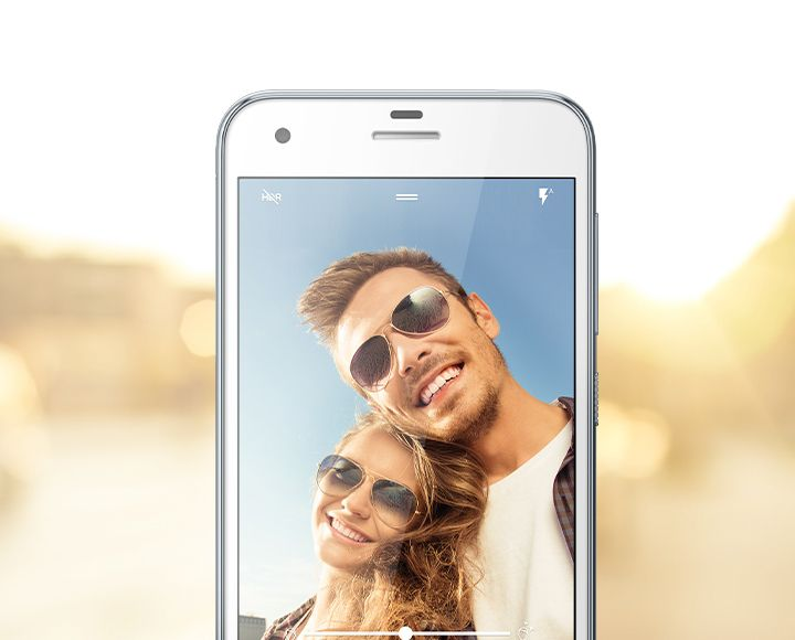 HTC One A9s Des selfies faciles à réaliser