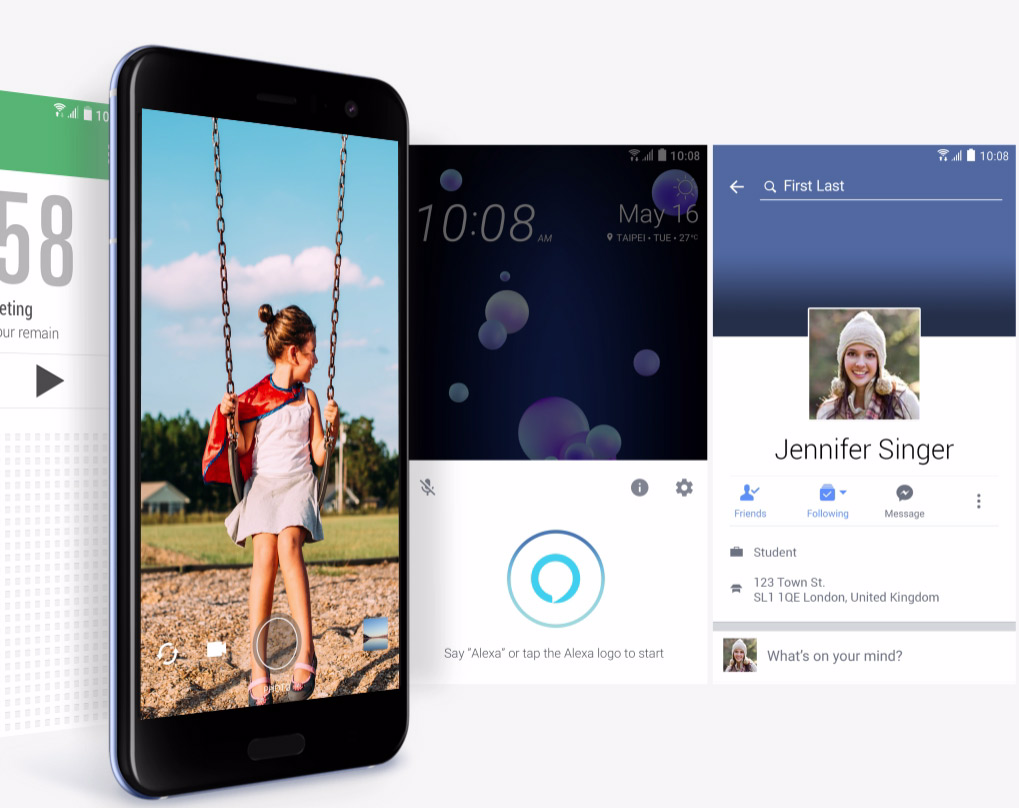 HTC U11 - Edge Sense