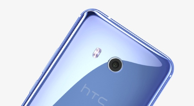 HTC U11 - Design surface cristaline