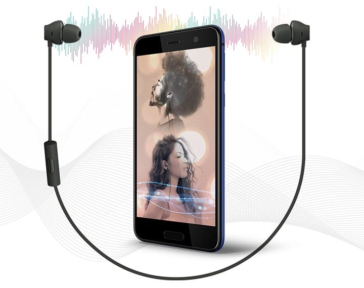 HTC U Play Vous écoutez