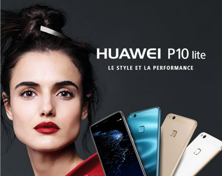 Huawei P10 Lite - style et performance