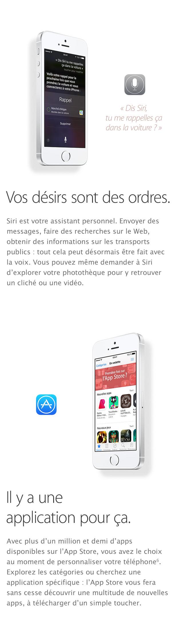 iPhone SE Siri Applications
