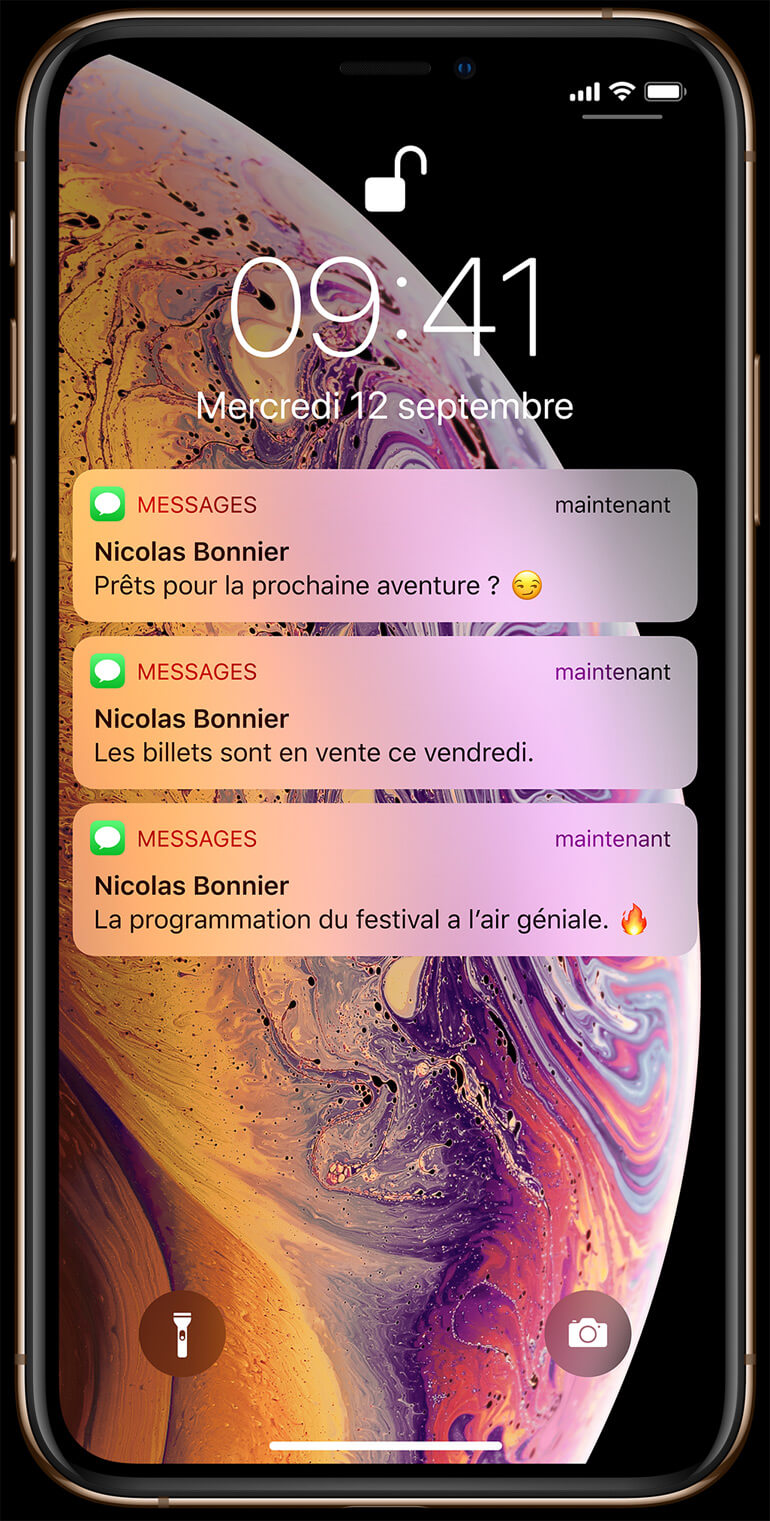 Apple iPhone Xs Max Face ID Bouygues Télécom