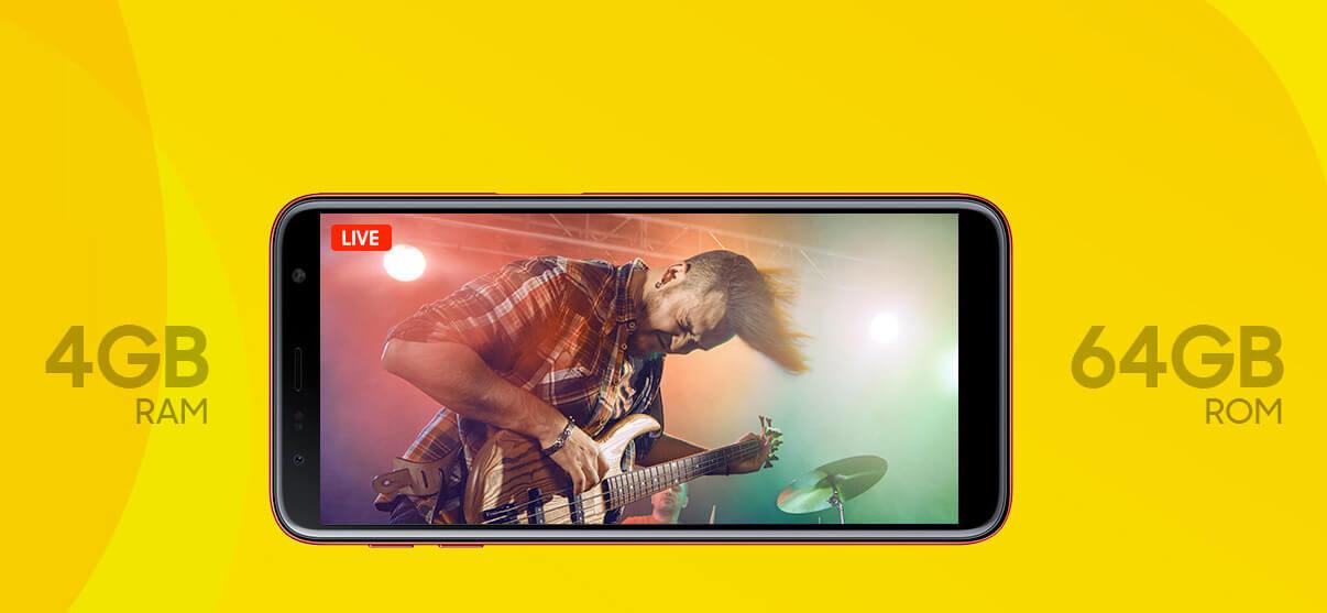 Samsung Galaxy J6+ Processeur Snapdragon Bouygues Télécom