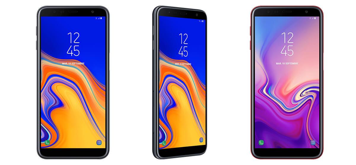 Samsung Galaxy J6+ finition en verre Bouygues Télécom