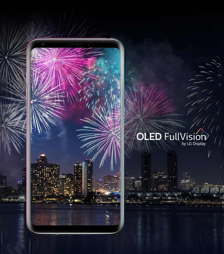 LG V30 - écran OLED révolutionnaire