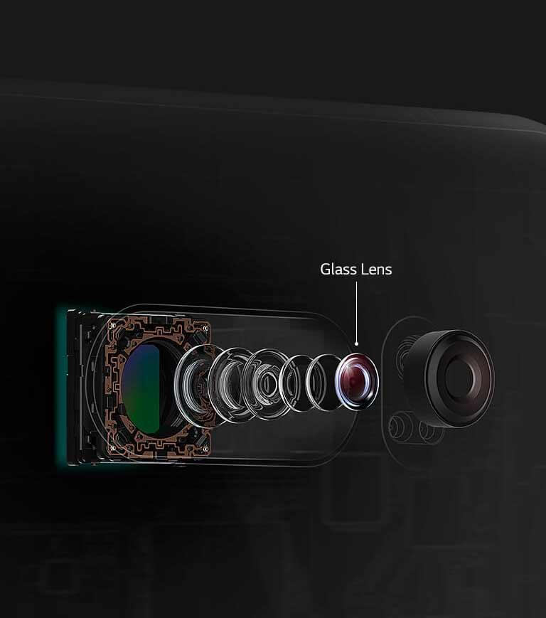 LG V30 - Objectif Crystal Clear F1.6