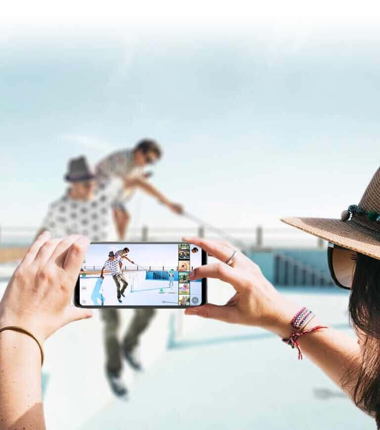 LG V30 - Mode Cine Video