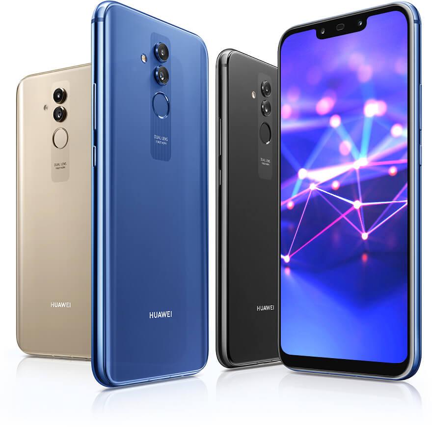 Huawei Mate 20 lite écran Fullview 6,3 pouces Bouygues Télécom