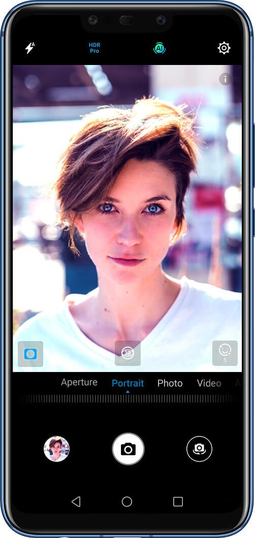 Huawei Mate 20 lite Mode HDR Pro Bouygues Télécom