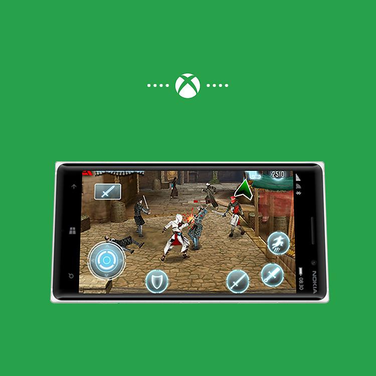 Lumia 830 Xbox