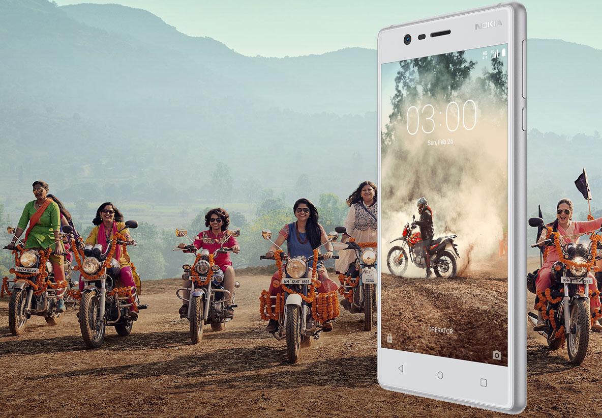 Un téléphone Android™ superbement conçu avec l'essentiel. - Nokia 3