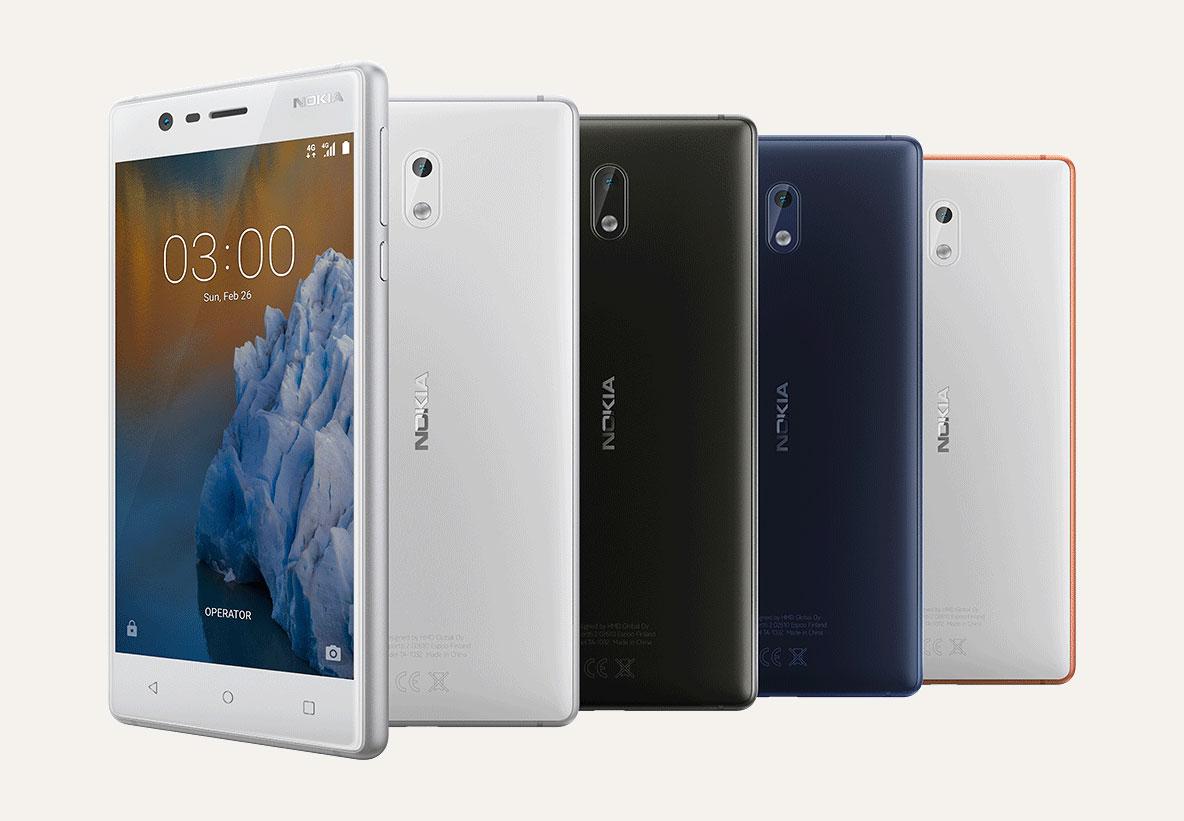 Design sculpté, fabriqué avec art - Nokia 3