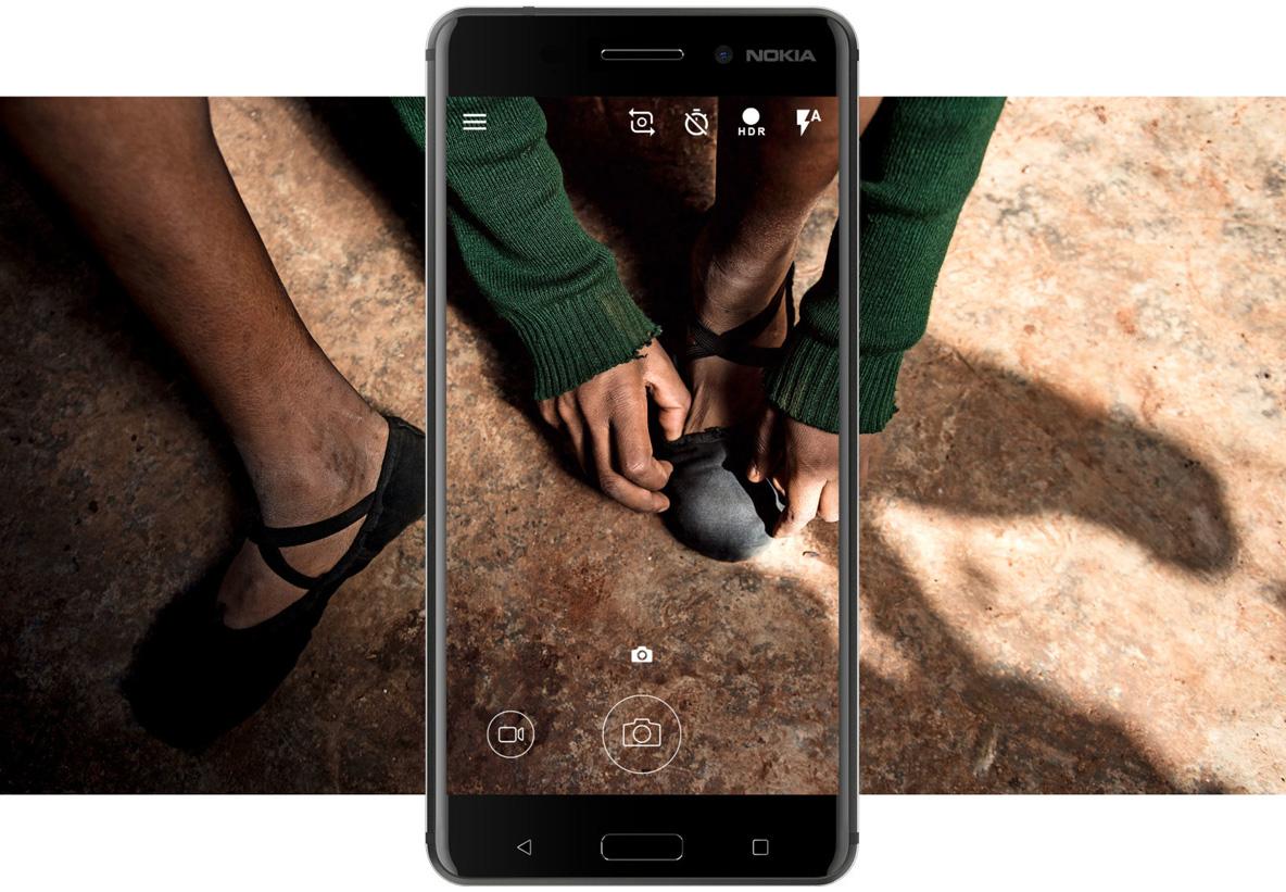 Créez des souvenirs avec l'appareil photo de 16 mégapixels - Nokia 6