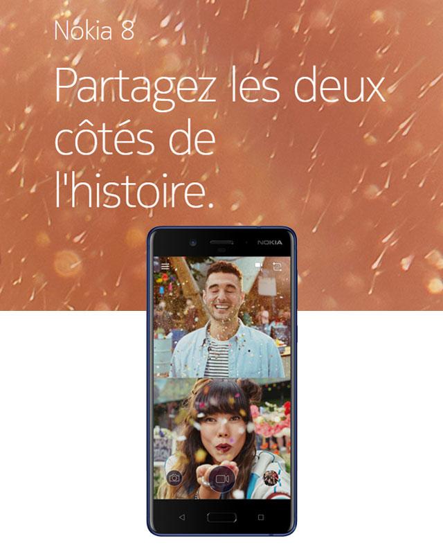 Nokia 8 - Soyez plus #Bothie