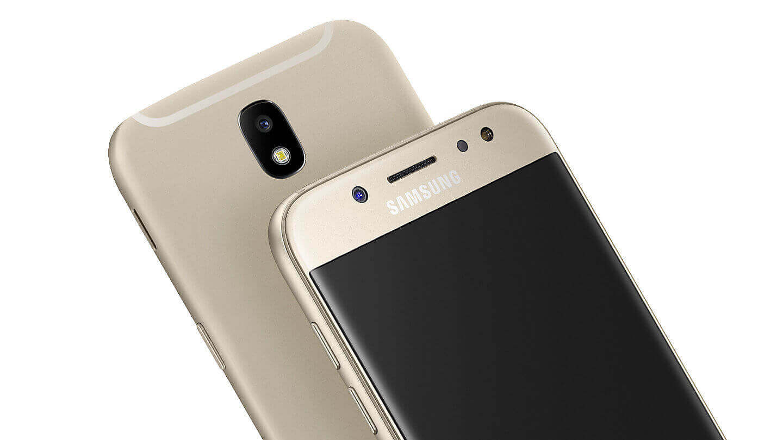 Galaxy J7 2017 - Un design tout en métal