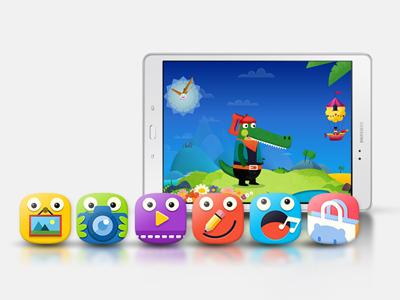 TAB A 9.7 application ludique pour les enfants