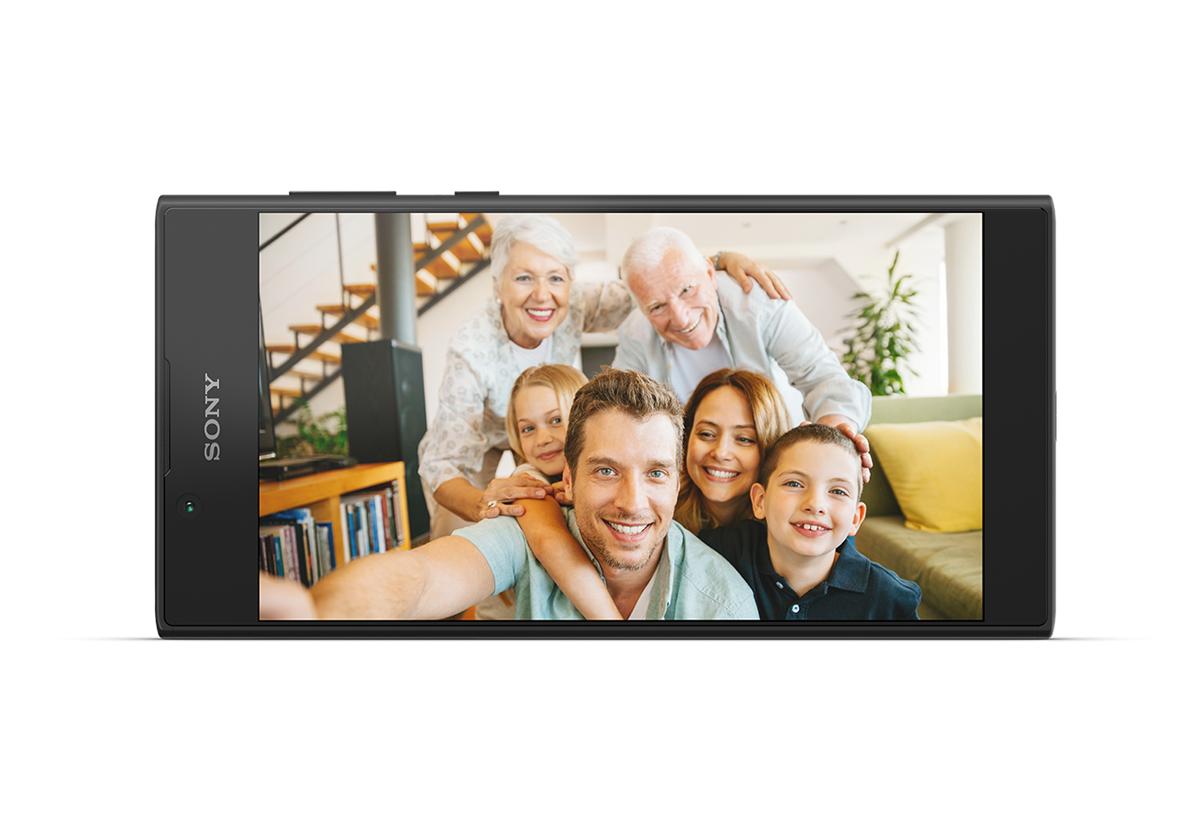 Toujours le bon moment pour un selfie - Xperia L1