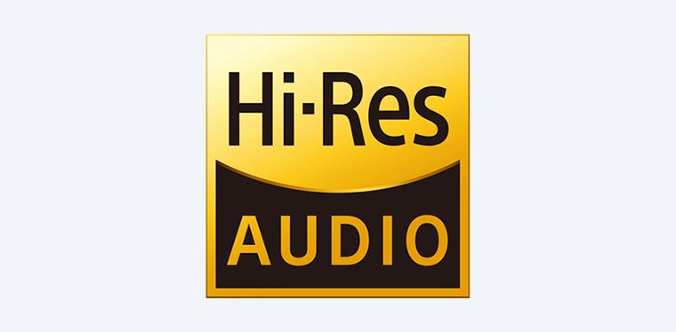 Icône - écoutez en haute résolution