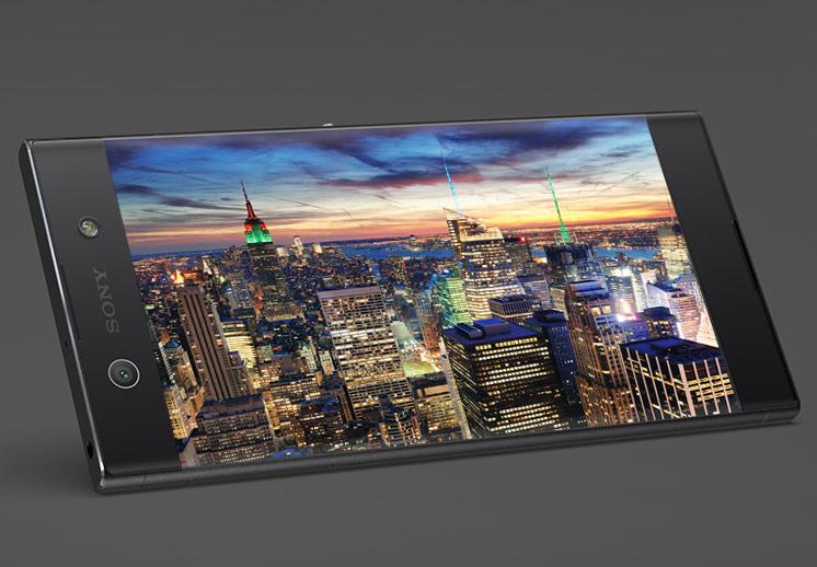 """Splendide écran 6"""" de bord à bord - Sony XA1 Ultra"""