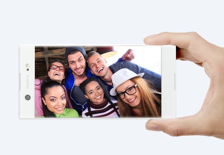 Sony XA1 Ultra - Grand angle pour selfies