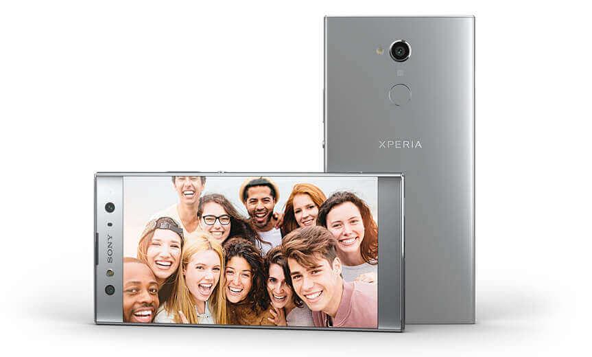 "XA2 Ultra - appareil photo double selfie et un incroyable écran 6"""