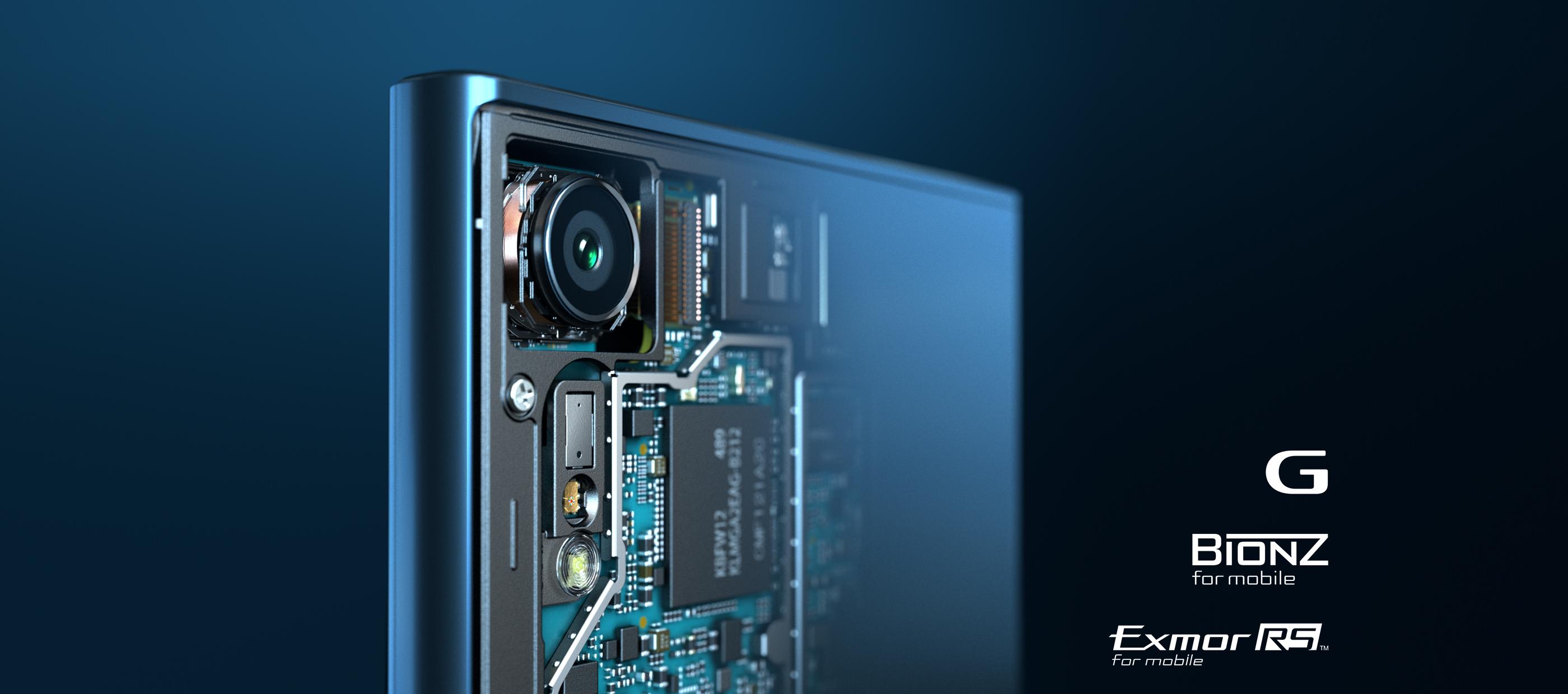 Tout notre savoir-faire en matière d'appareils photo, dans un smartphone