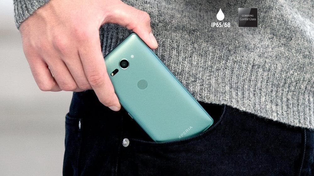 Sony XZ2 Compact - Conçu pour tenir dans votre main