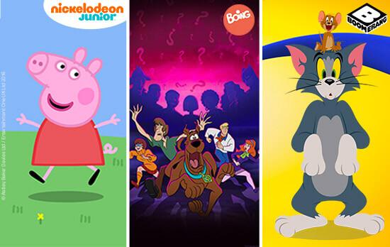 affiches de dessins animés