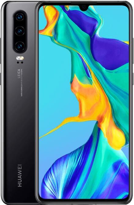 [Huawei P30, noir] – Bouygues Telecom