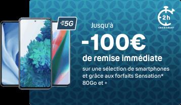 100 euros de remise