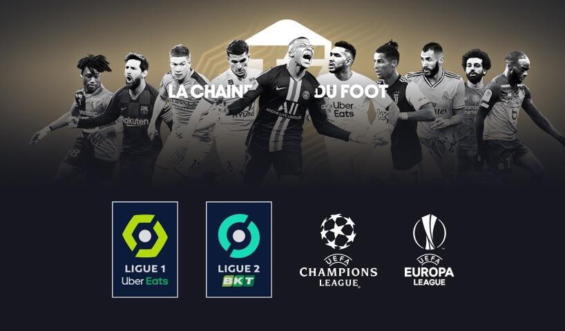 Cinq joueurs de foot des grands championnat
