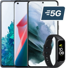 Farandole générique bracelet logo 5G
