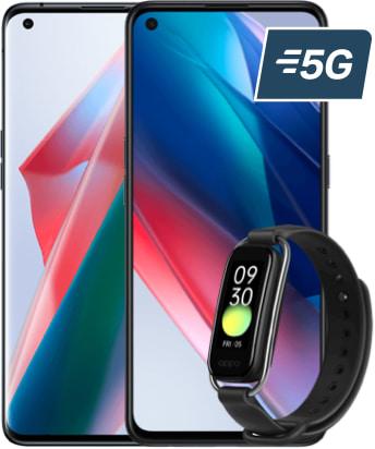 oppo find x3 series 5g bracelet logo 5g