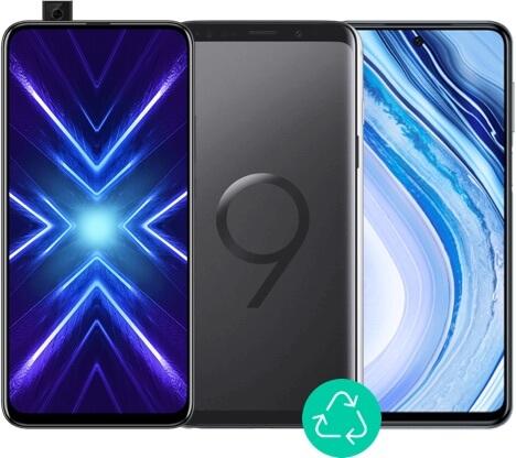 Visuel de 3 smartphones