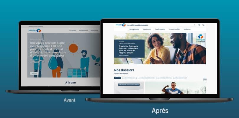 visuel nouveau site corporate