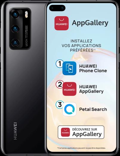 Visuel Huawei P40 – Bouygues Telecom