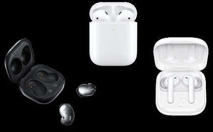 Selection d'accessoires audio