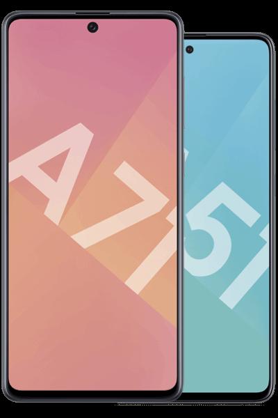 SmartphonesSamsung galaxy A71 A51